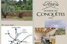 Domaine des Conquêtes | Vins et Oenotourisme à Aniane