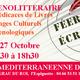 Féérie des Ecrivains d'ici le 26 et 27 octobre de de 9h30 à 18h30 à la Maison Méditerranéenne des Vins du Grau du Roi