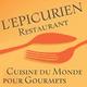 Epicurien Frontignan Restaurant avec cuisine du monde traditionnelle avec poissons et produits frais de saison.